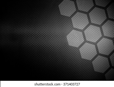 metal plate with cellular design background