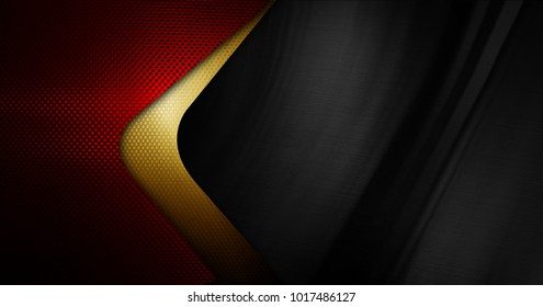 metal plate with curve design background