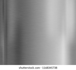 Metal plate texture background with brushed steel surface