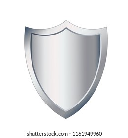 metal shield protection icon image vector illustration design, stock illustration