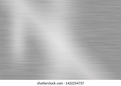Metal stainless steel background reflection