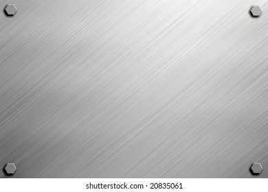 metal or steel background texture with bolts