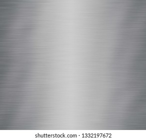 metal texture background aluminum brushed silver stainless - Illustration