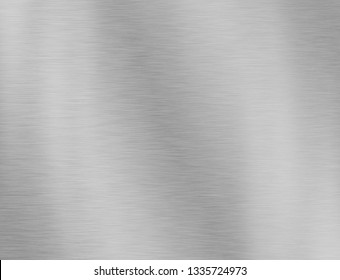 metal texture background aluminum brushed silver stainlessback - Illustration
