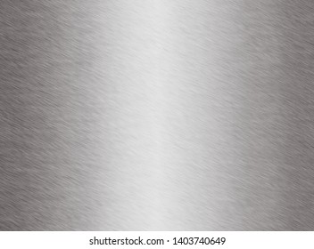 metal texture background aluminum brushed silver - Illustration