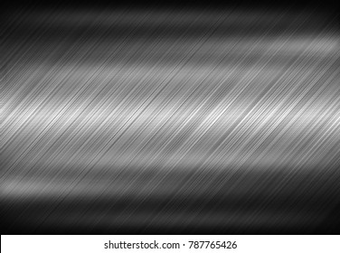 Metal texture background aluminum brushed silver