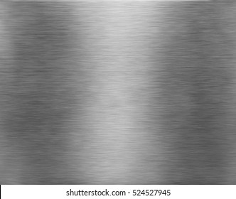 Metal texture background. Brushed aluminium.