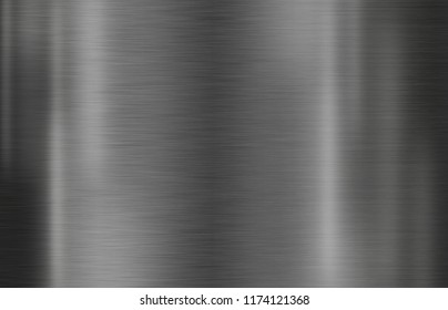 Metal texture background or stainless brushed plate