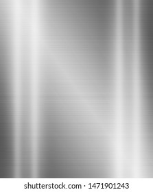 Metal texture background or stainless brushed steel surface