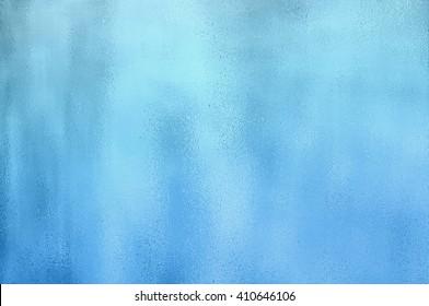 Metallic Blue Foil Texture Background