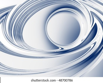 Metallic cool blue corporate-business background