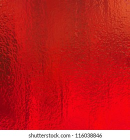 metallic red background foil paper illustration for Christmas background wrapping paper design for Christmas gift, shiny vintage grunge background texture with glossy shine for web design or brochure