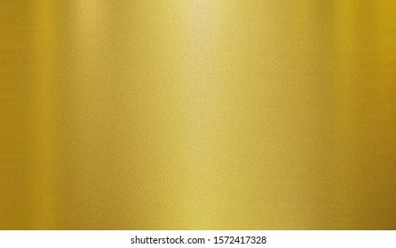 metallic  rough and noise glitter art gold foil texture polished glossy abstract background with copy space, metal gradient template for gold border, frame, ribbon design
