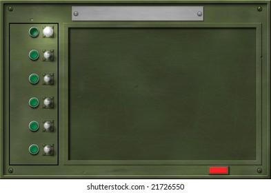 Metallic user interface