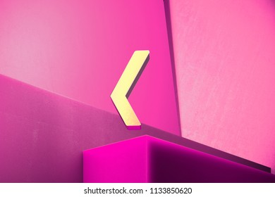 Metallic Xing Icon on the Magenta Background. 3D Illustration of Metallic Network, Square, Xing, Connection, Media Icon Set With Color Boxes on Magenta Background.
