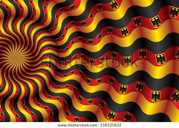Metaphor for Germany flag