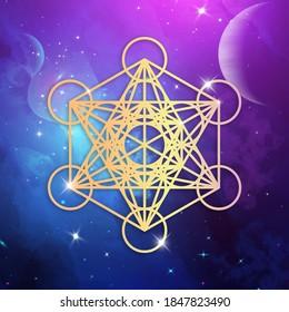 Metatron's Cube, Sacred geometry, symbol of creation