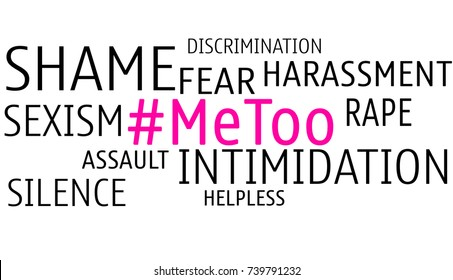 #meToo Concept against Harassment and Sexism