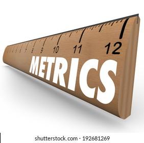 Metrics word wooden ruler  measurements, methodology and benchmarking