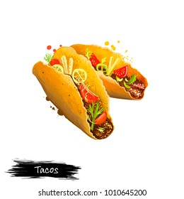 Mexican Food Clipart Images Stock Photos Vectors Shutterstock