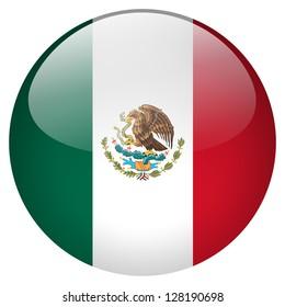 Mexico flag button