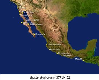 Riviera Maya Map Images, Stock Photos & Vectors   Shutterstock