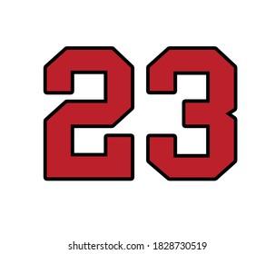 Michael Jordan bulls number 23.