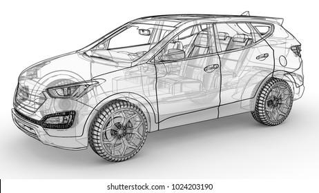Car Frame Images, Stock Photos & Vectors | Shutterstock