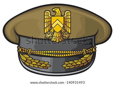 Military Hats Army Caps Stock Illustration - Royalty Free Stock ... 8d2964dfb24