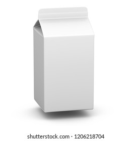 Milkbox. 3D Illustration.