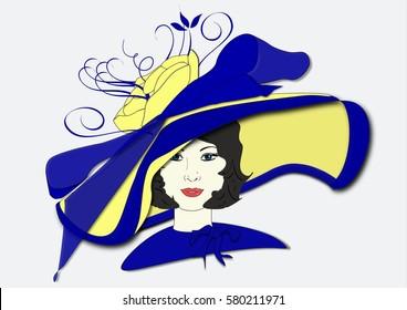 Millicent's Derby Day Hat