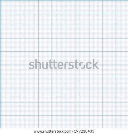 millimeter paper grid seamless pattern 100 mm stock illustration