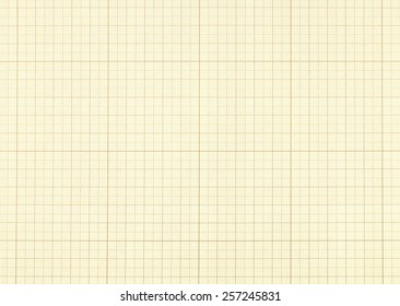 Millimeter paper grid texture background - vintage