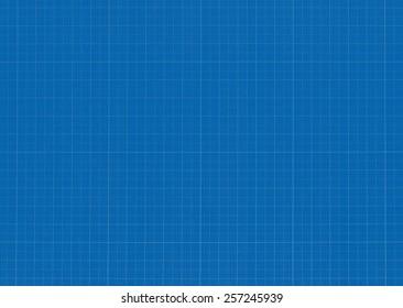 Millimeter paper grid texture background - blue