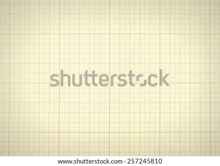 millimeter paper grid texture background central stock illustration