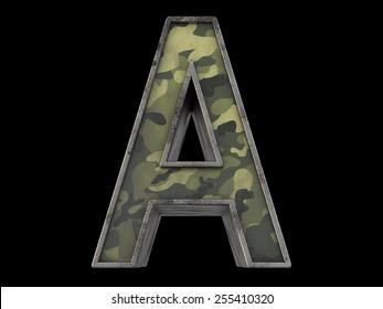 the millitary alphabet A