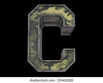 the millitary alphabet C