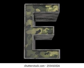 the millitary alphabet E