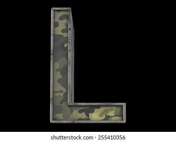 the millitary alphabet L