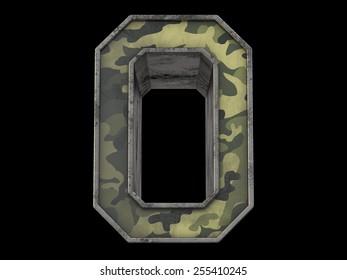the millitary alphabet O
