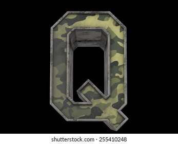 the millitary alphabet Q
