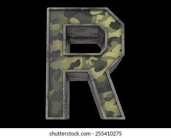 the millitary alphabet R