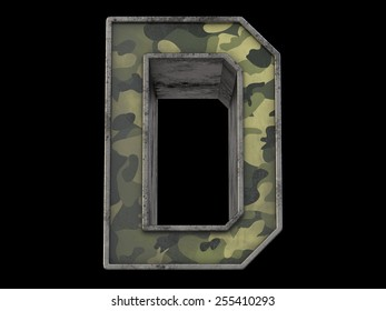 the millitary text D