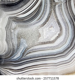 Mineral, agate with nacre