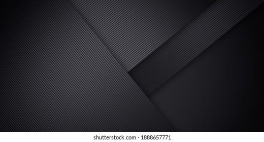 Minimal geometric dark gray background. Abstract illustration background