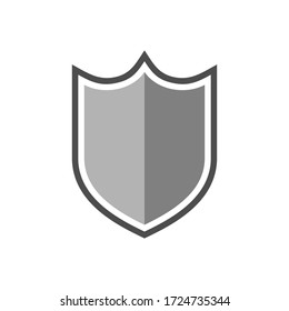 minimalist and clean shield design.