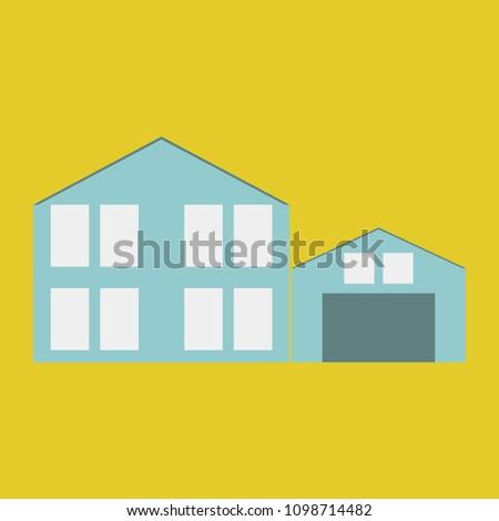 minimalist house icon scandinavian style cute stock illustration rh shutterstock com