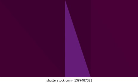 minimalistic triangle geometric background with very dark violet, indigo and very dark magenta colors for poster, cards, wallpaper or background texture.