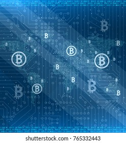 Mining Bitcoin Cryptocurrency Around the World, Cryptography