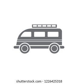 Minivan icon. Simple element illustration. Minivan symbol design from Transport collection set. Can be used for web and mobile